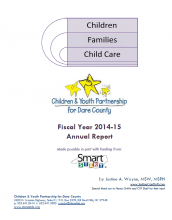 Children and Youth Partnership, Annual Program Outcomes: 2014-15