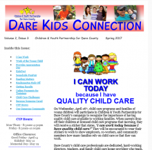 Children and Youth Partnership, Dare Kids Connection- Spring 2017