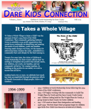 Children and Youth Partnership, Dare Kids Connection- Fall 2019
