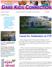 Children and Youth Partnership, Dare Kids Connection - Fall 2016