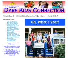 Children and Youth Partnership, Dare Kids Connection - Winter 2016-17